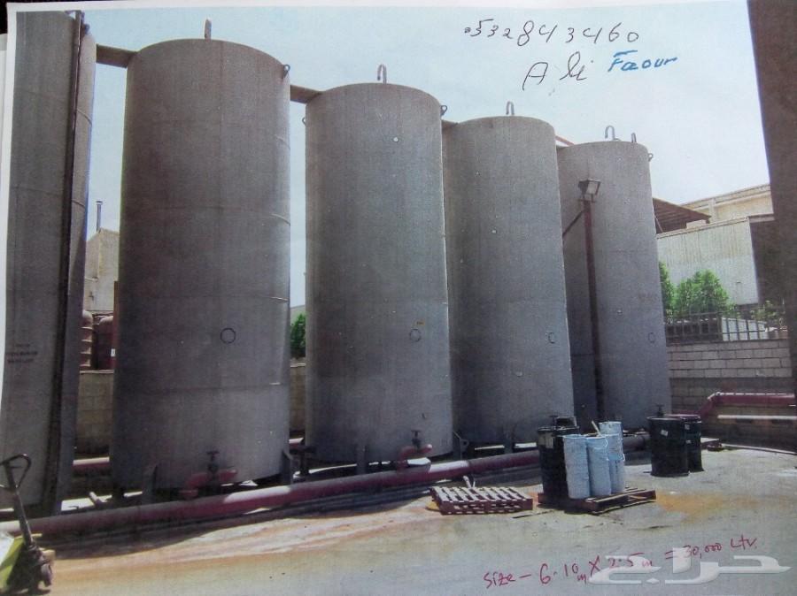 خزانات ماء مجلفنة Galvanized water tanks