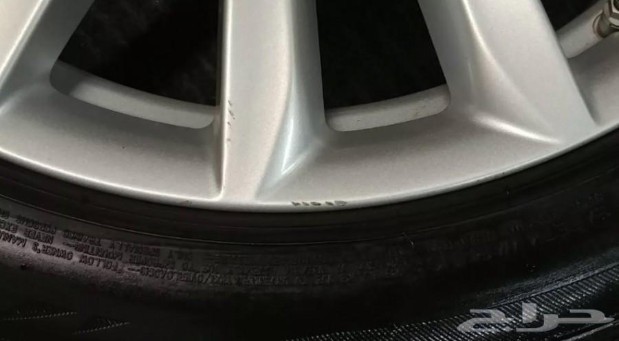 جنوط  2018 BMW اصليه وكاله للبيع مع كفرات