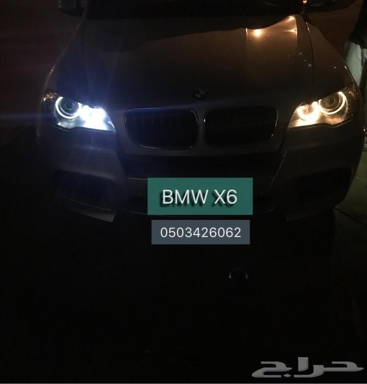 أنوار بيضاء لحلقات BMW بدون خطأ