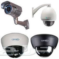 كاميرات مراقبة امنية مع التركيب والضمان