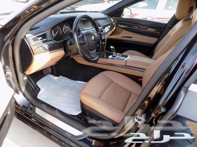 BMW730Li 2012 نظيف جدآ