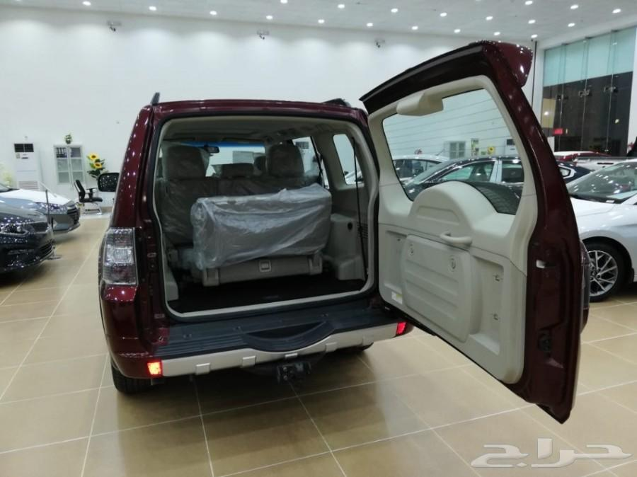 ميتسوبيشي باجيرو 3.8 105000سعودي 2018