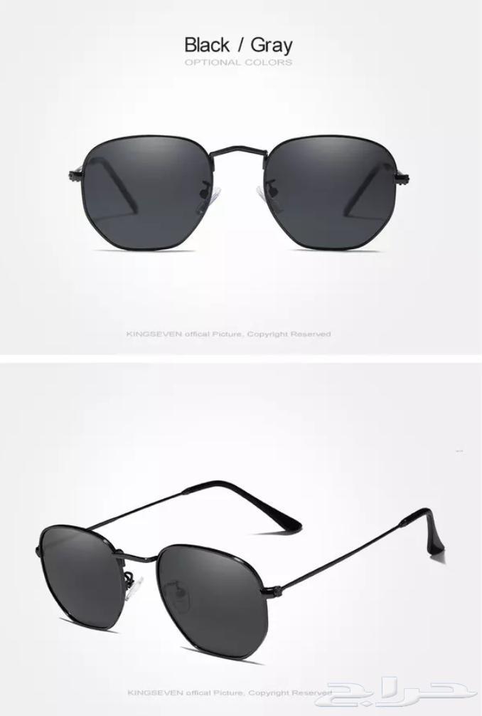6a794218d نظارات شمسية KINGSEVEN رجالية