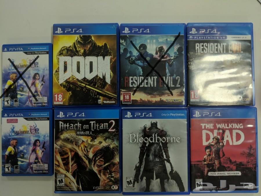 أشرطة بلايستيشن للبيع PlayStation