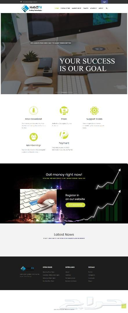 تصميم مواقع انترنت بإحترافية بأقل الأسعار