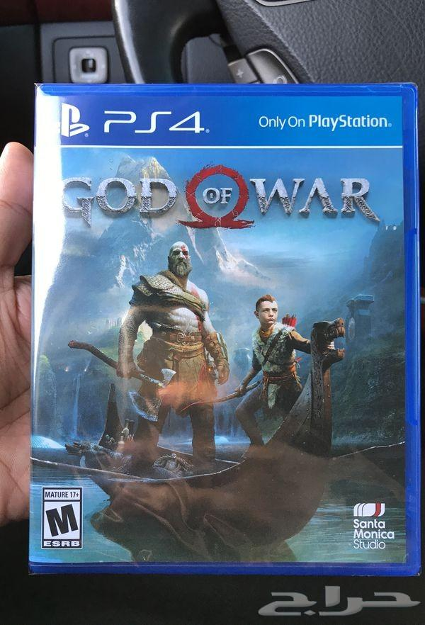 شريط God of war 4 نضيف جدا