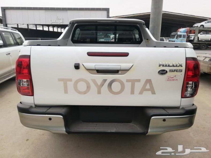 هايلكس TRD 4x4 2019 سعودي 124000 V6