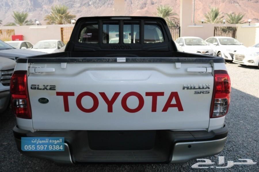 تويوتا هايلوكس2019 غمارتين فل GLX2 سعودي جنط