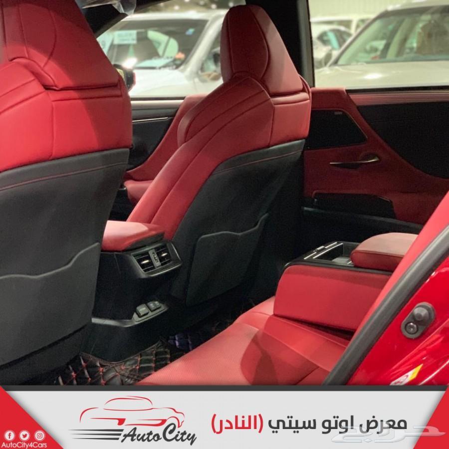 لكزس ES350 F sport كامل المواصفات سعودي 2019