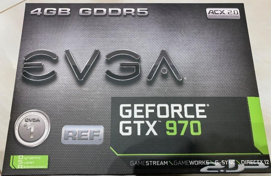 كرتين شاشه Evga GTX 970