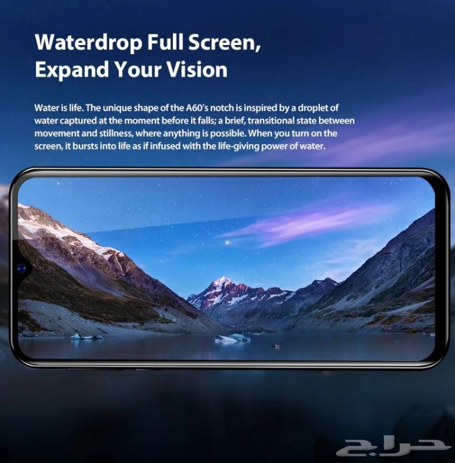 ب250 ريال جوال شاشة 6.1 waterdrop عملي وأنيق