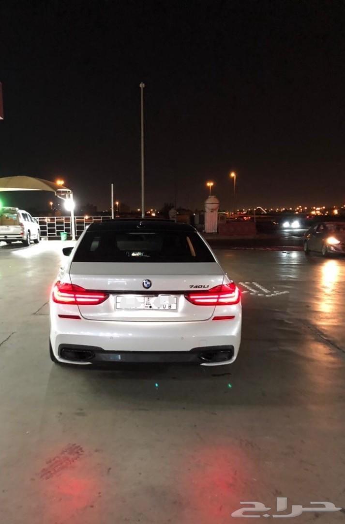 BMW740 كت M موديل 2016  فل اوبشن مواصفات خاصة