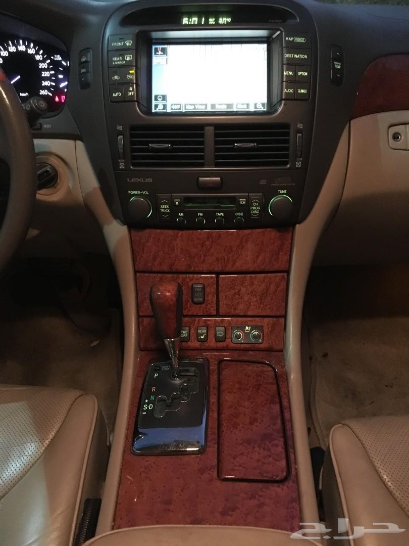 لكزس LS430  مخزن ممشى 195الف لولي سعودي 2004