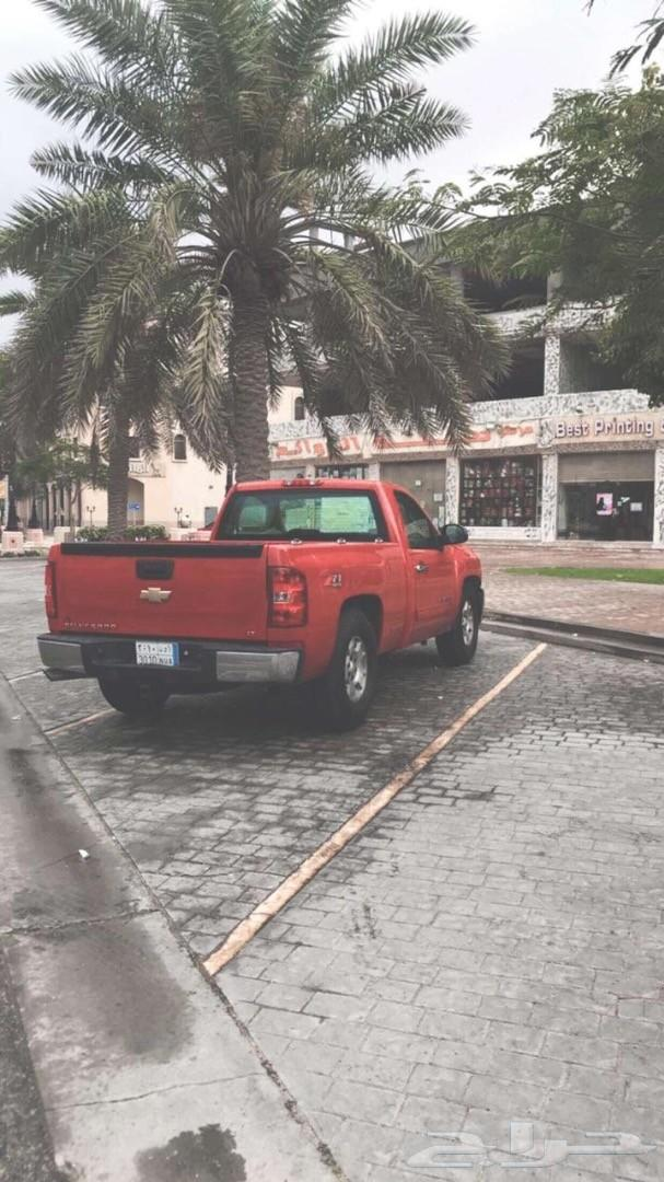 سلفرادو 2013 فل كامل احمر