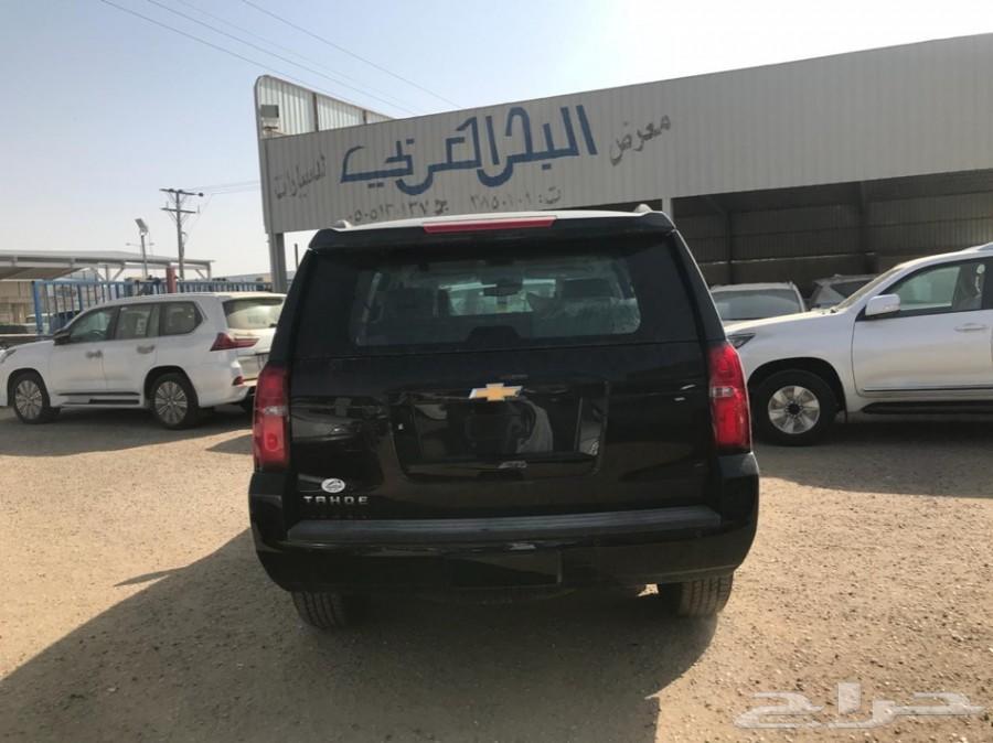 شفروليه تاهو LT الجميح2018معرض البحر العربي