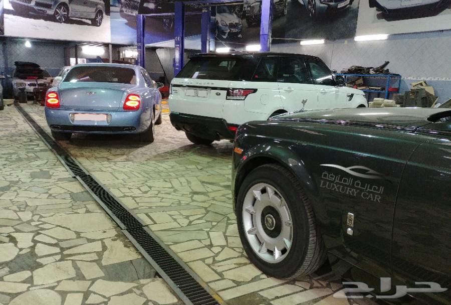 صيانة السيارات الألماني والأوروبية المترفة
