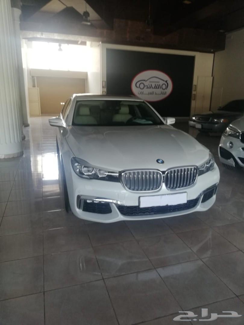 BMW 730 موديل 2016 عداد 42 الف KIT M