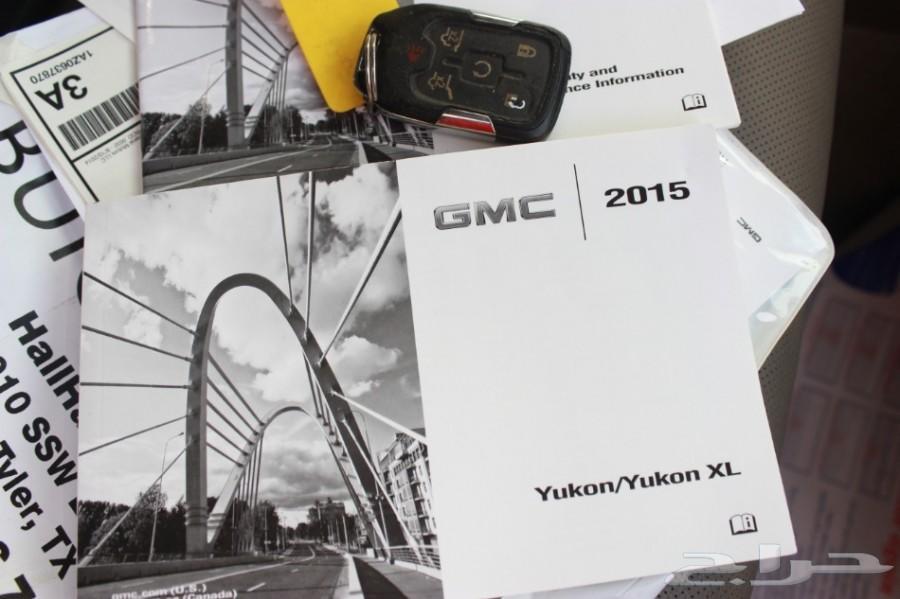 يوكن XL طويل 2015 SLT لؤلؤي بطاقه امريكي