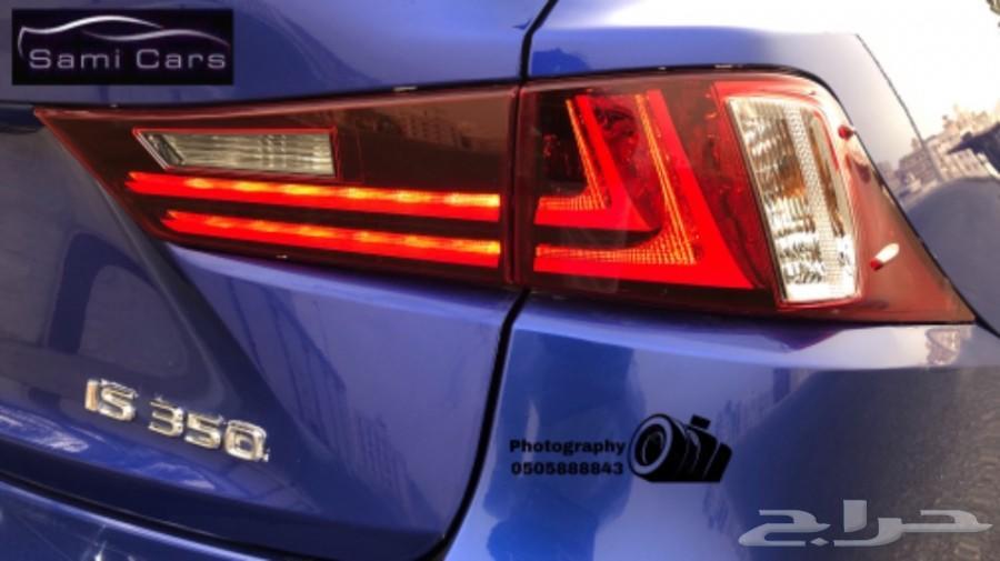 تم البيع  لكزس IS 350 F 2015  السعر 95.000