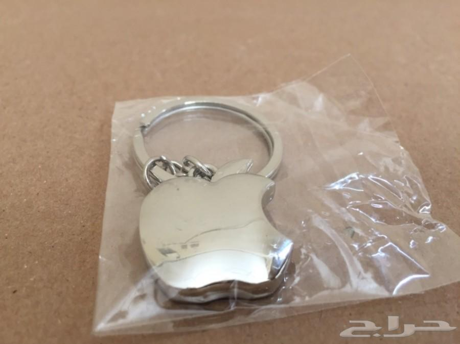 ميدالية مفاتيح معدن علامة آبل