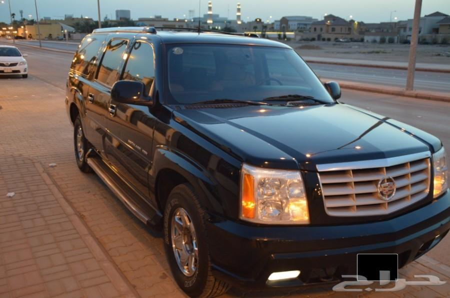 كالديلاك 2005 نظيف لون أسود ملكي  -- تم البيع