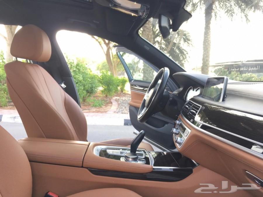 BMW 730 il 2017 على الضمان والصيانة