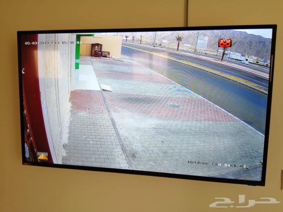 4كاميرات مراقبةب1800ريال مع التركيب دقة عالية