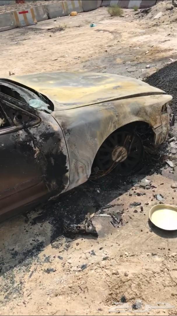 فورد 2005 محترق تشليح