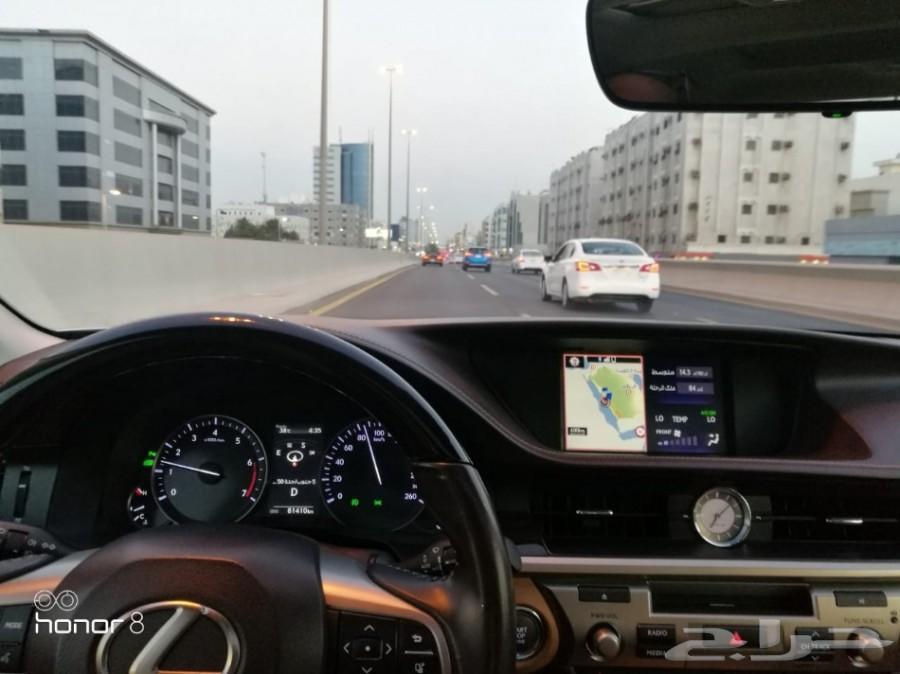 لكزس ES350 2017 عبداللطيف جميل