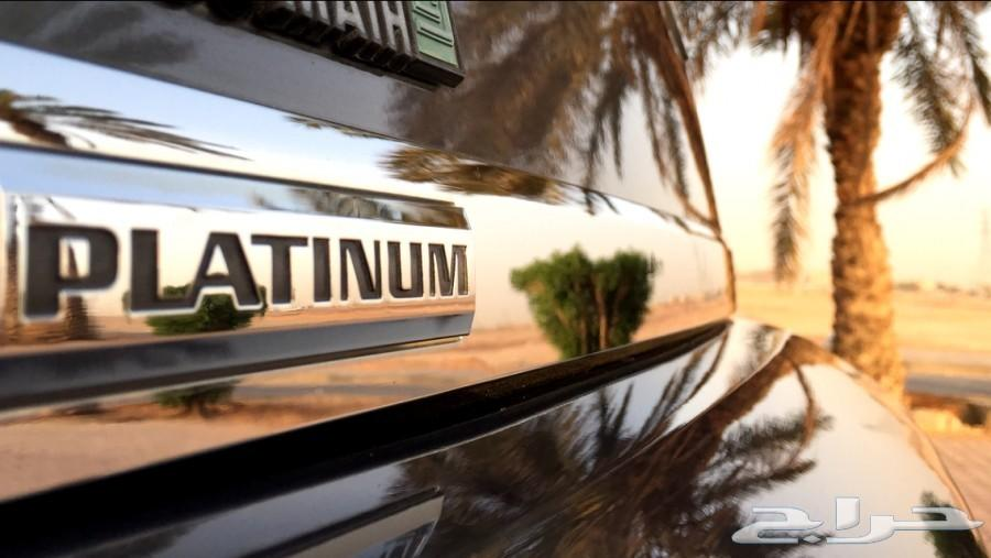 (سيارة صاحب سمو ملكي) DTS مخزن بلاتنيوم