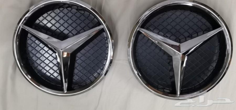 علامة الشبك الأمامي لاغلب سيارات مرسيدس