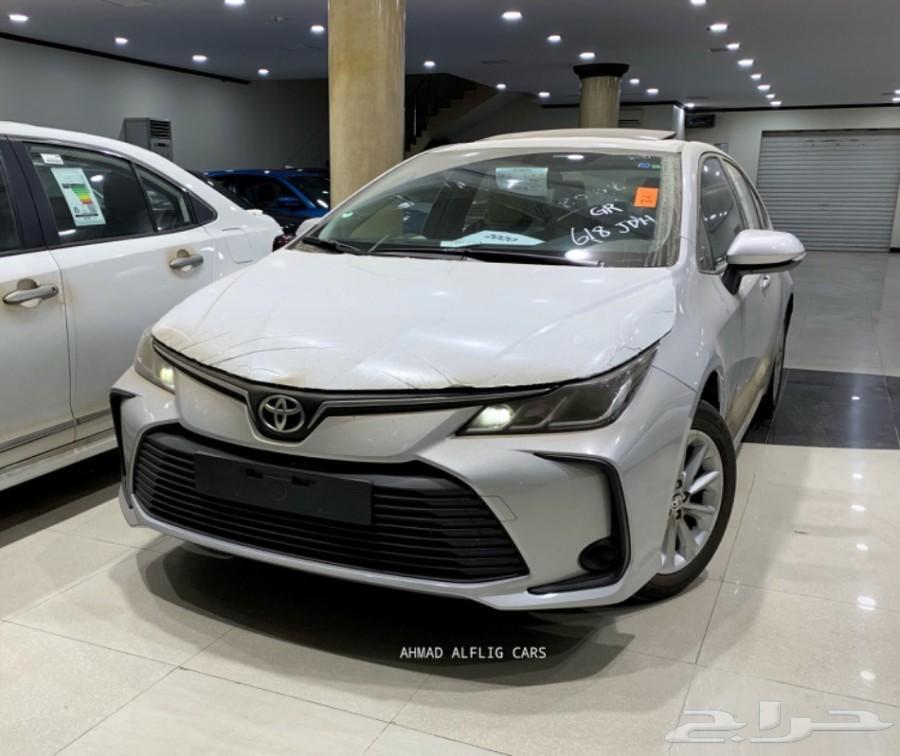 تويوتا كورولا 2020 XLI مطور فتحه (سعودي) ...