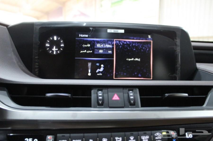 لكزس ES350 بريمي 2019 ابيض 175.000