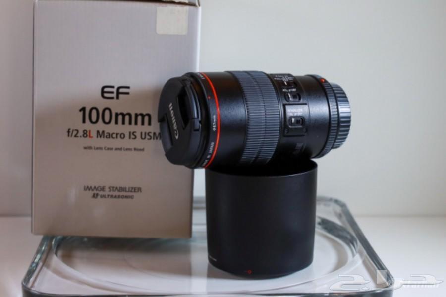 عدسة  كانون Canon 100mm f2.8