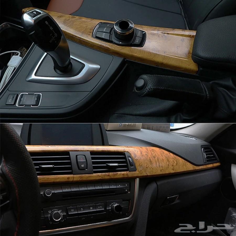 تجليدات خشبية حقيقية اللون لللسيارة والاجهزة