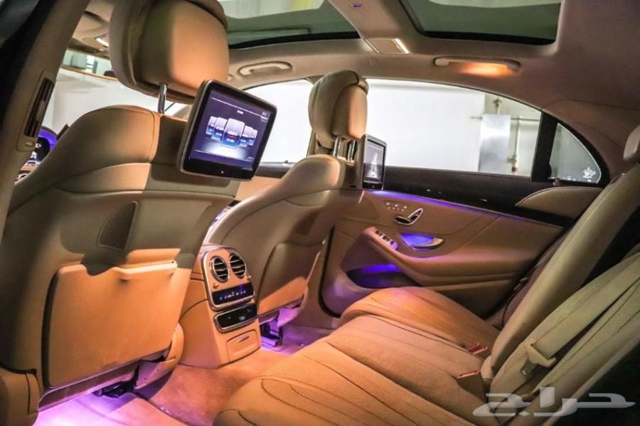 2016 مرسيدس S500 AMG