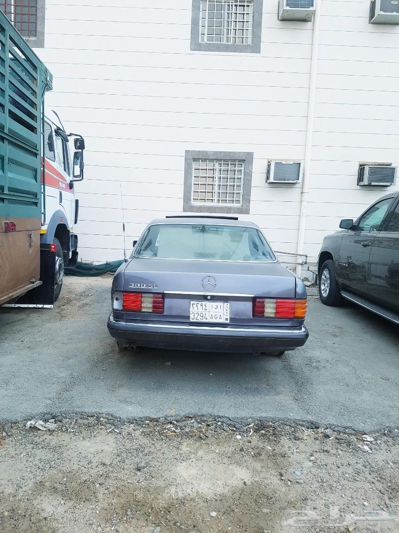 مرسيدس بنز 300SE موديل1990