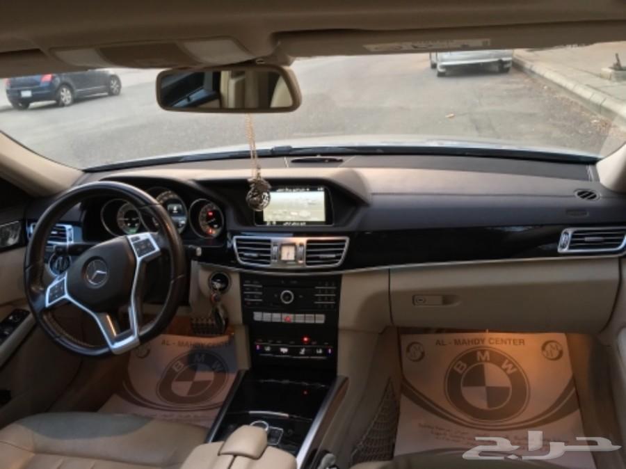 مرسيدس E300 AMG 2016 فل كامل جفالي