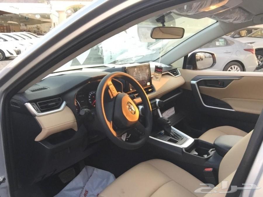 راف فور RAV4 أستندر LE  4WD  وارد عبداللطيف