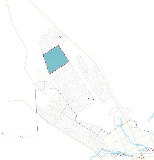 مطلوب ارض في حي الخير شمال الرياض