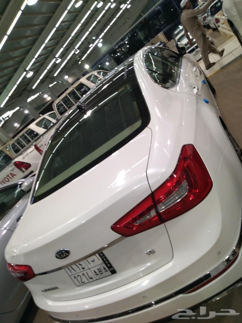 كيا كادينزا  خليجي V6 لؤلؤى نظيف 2015