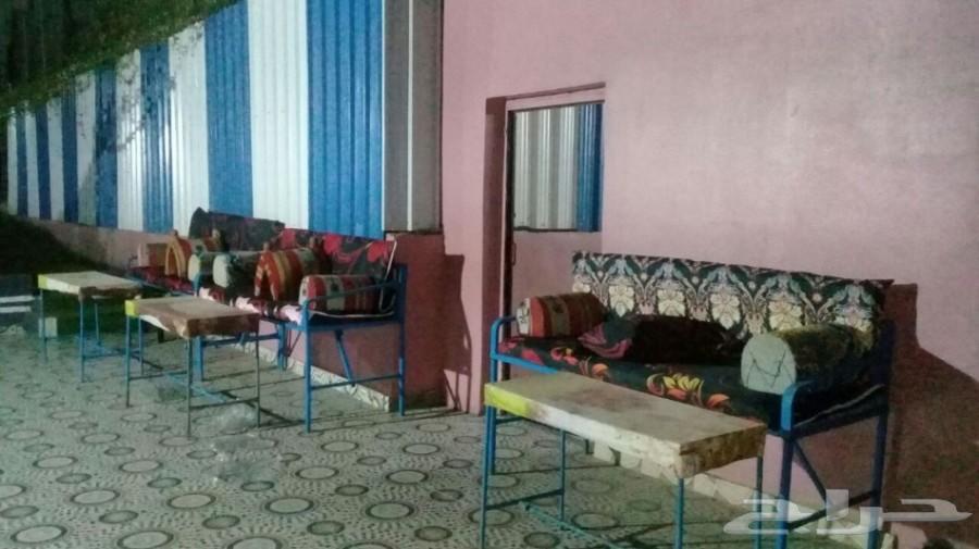 استراحة للايجار مسبح سخانات ملعب صابوني مجانا