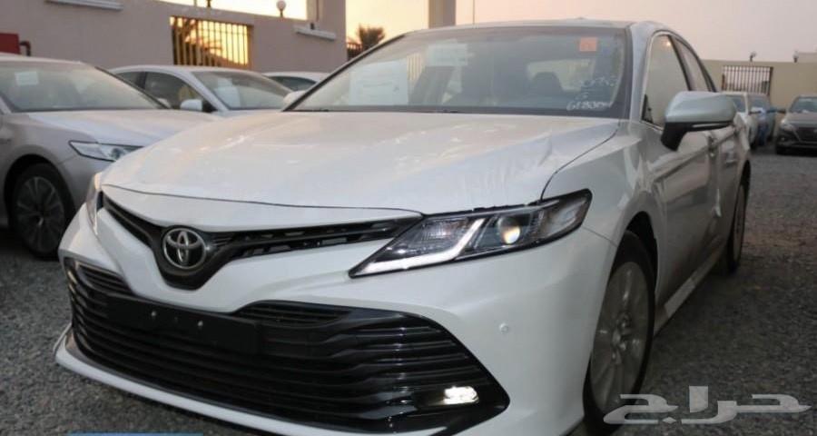العوده للسيارات متوفر كامري فل كامل 2019