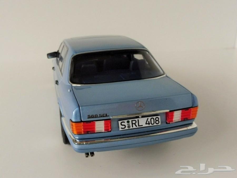 مجسم سيارة مرسيدس بنز  SEL560 موديل 1990