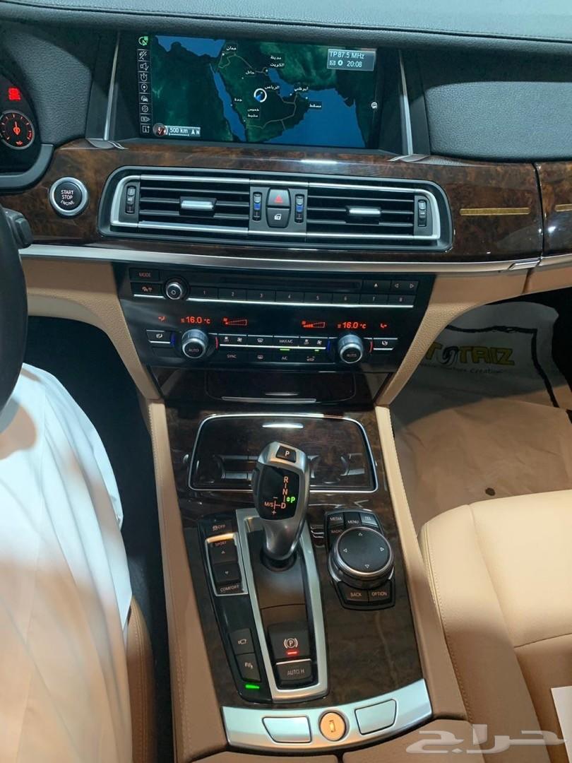 بي ام دبليو 730LI موديل 2015 ( تم البيع )