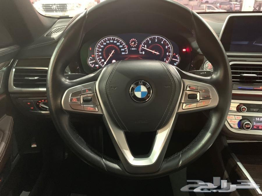 730Li BMW (تم البيع) ضمان وصيانة مجانية 6 سنة