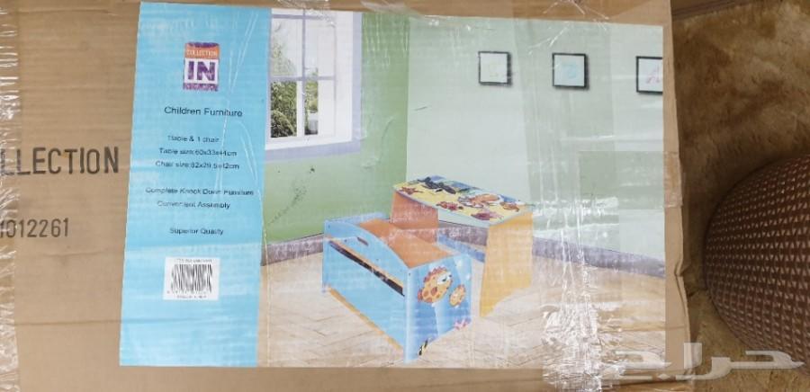 طاولات الدراسه للأطفال بنات واولاد