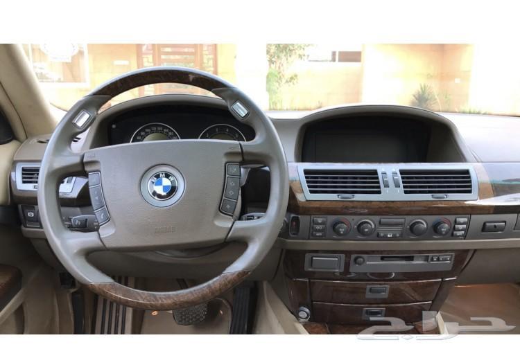BMW 760 LI  2004 للبيع او البدل المناسب