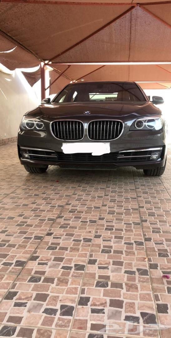 BMW 740 مخزنه 2014