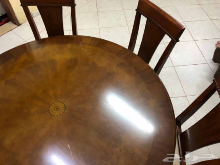 طاولة طعام خشب امريكي